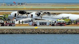 A fiery crash of an Asiana Airlines jet in San Francisco in last  July killed two people and injured 181 people.